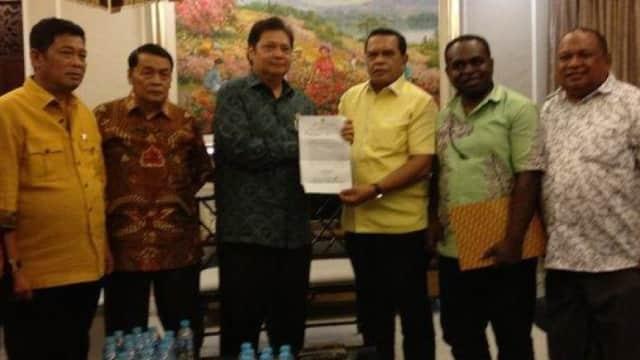 DPD I Golkar Papua Mendukung Airlangga Dalam Munaslub