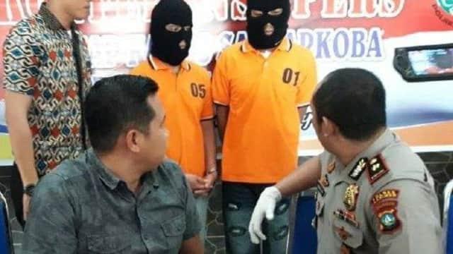Staf Pemkab Karimun Ditangkap Gunakan Sabu 3,96 Gram