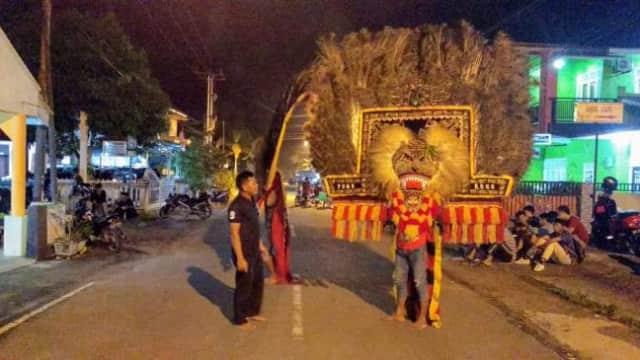 Ini yang Terjadi Saat Reog Nampil di Malam 1 Syuro di Tanjungpinang