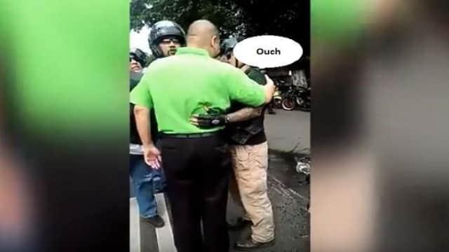 Lagi Arogansi Pengendara Harley Davidson, Sampai Pukul Sopir Mobil dan Terlibat Baku Hanta