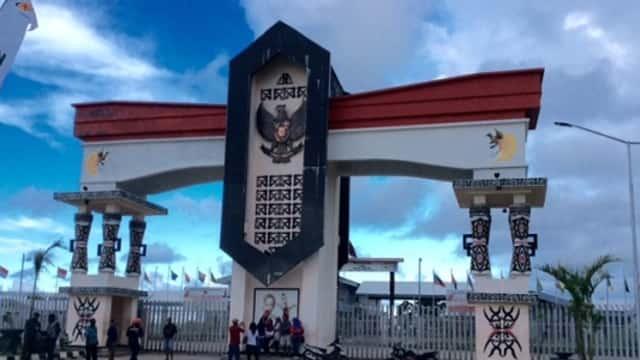 Wisata Batas Negara di Papua
