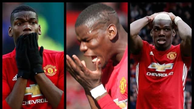 Kompilasi Aksi Gagal Pogba Bersama Manchester United