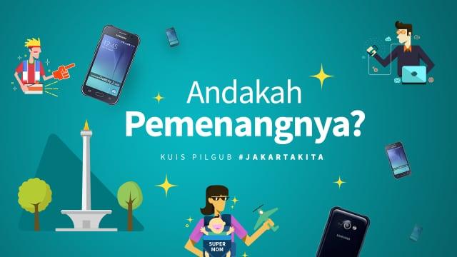 Pengumuman Pemenang Kuis Aspirasi #JakartaKita