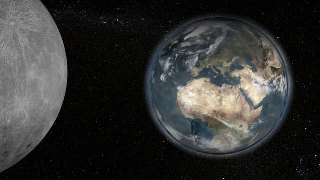 Bulan Semakin Menjauh dari Bumi