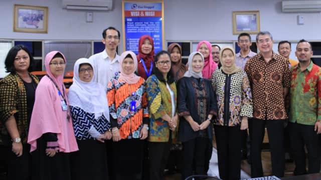 Prodi Bioteknologi Esa Unggul Gelar Visitasi Akreditasi BAN PT