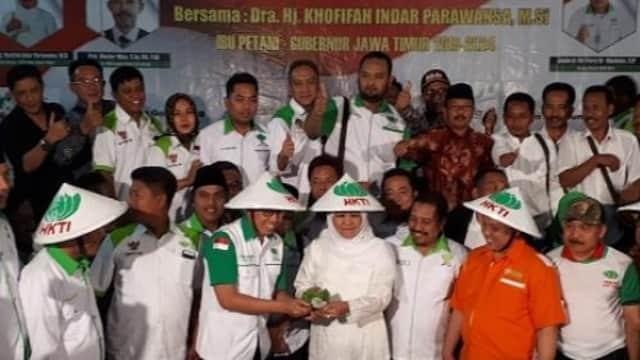 Pilpres 2019, HKTI Jatim Siap Ikuti Pilihan Khofifah