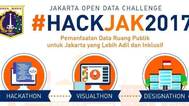 HackJak 2017: Kompetisi Pemanfaatan Open Data Jakarta