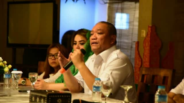Menangkan Prabowo-Sandi, Bambang Kristiono Kobarkan Semangat Generasi Muda Gerindra Lombok