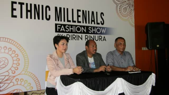 Ethnic Milenials Fashion Show di De La Sirra Resto Bakal Pamerkan Karya Ririn Rinura