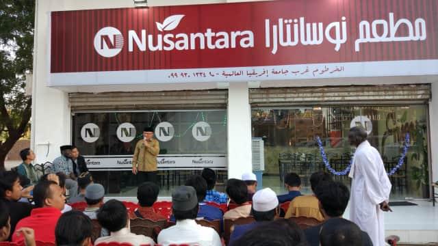 Dibuka, Restoran Indonesia Pertama di Sudan