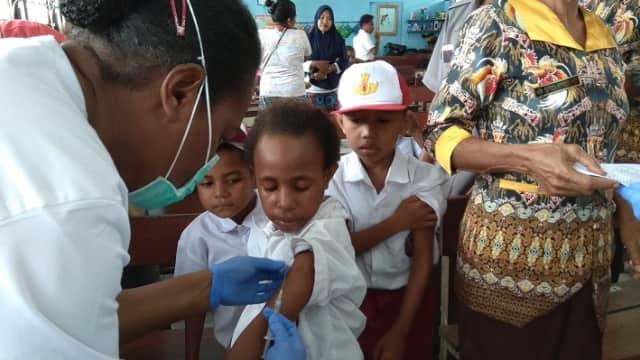 Kota Jayapura Perpanjang Pemberian Imunisasi MRP