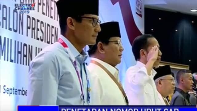 Cuma Jokowi yang Hormat Tangan Saat Nyanyikan Lagu Indonesia Raya, UU Nyatakan Salah!