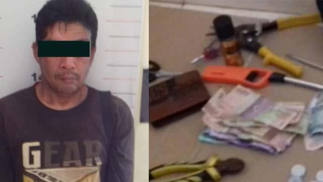 Terekam CCTV dan Viral di Medsos, Pencuri Kotak Amal Ditangkap