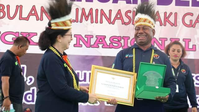 Imunisasi MR Capai 98 Persen, Provinsi Papua Barat Dapat Penghargaan
