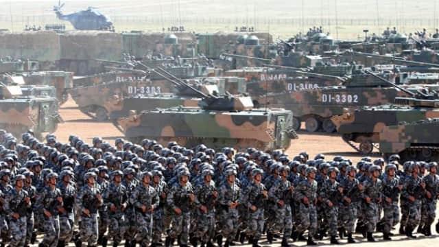 China Siap Tantang Perang India