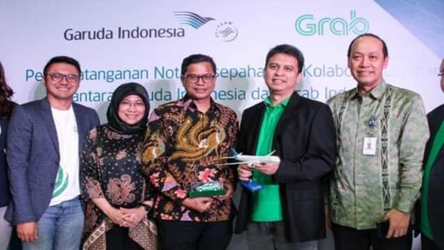 PT Solid Gold Berjangka   Grab dan Garuda Indonesia Berkolaborasi Layani Pelanggan