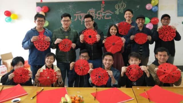 Begini Serunya Acara Lantern Festival di Nanjing Xiaozhuang University