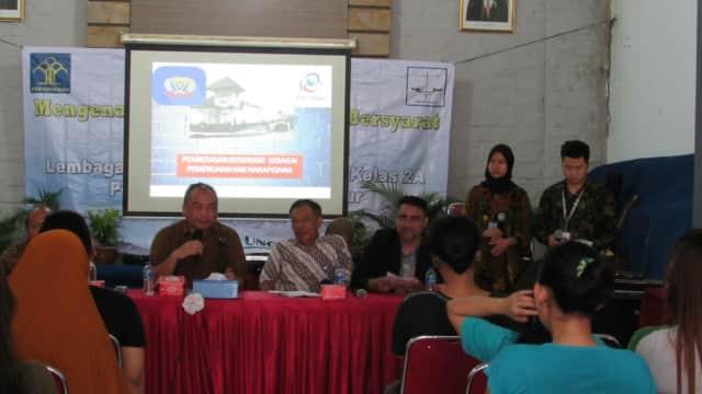 Lembaga Konsultasi dan Bantuan Hukum Esa Unggul Gelar Penyuluhan di di Rutan Pondok Bambu