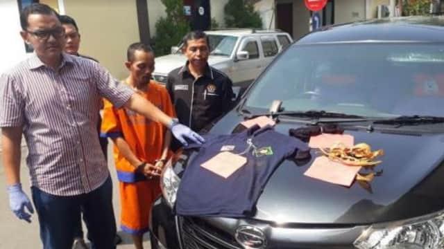 Polisi Bekuk 4 Pelaku Perampasan Taksi Online