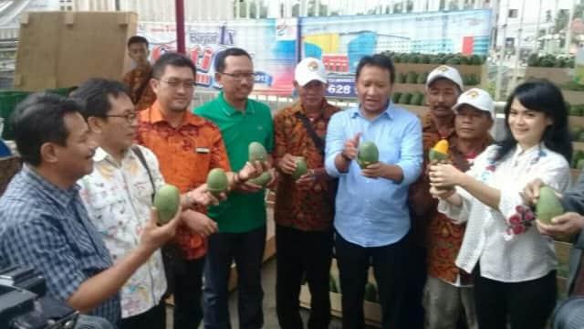 5 Hari Dipamerkan di Jakarta, 40 Ton Mangga Alpukat Ludes Terjual