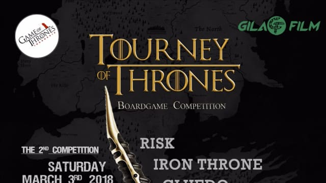 Kompetisi Seru Boardgame Game of Thrones Akan Hadir Kembali