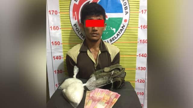 Simpan Sabu-sabu, Agung Ditangkap Polisi