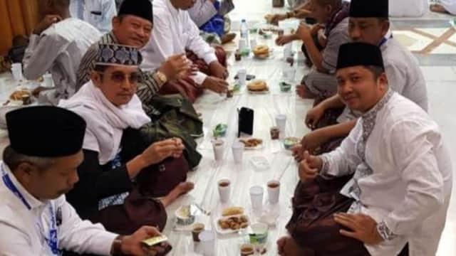 Ini Doa Abah Saiful Selama Umroh Ramadan di Tanah Suci