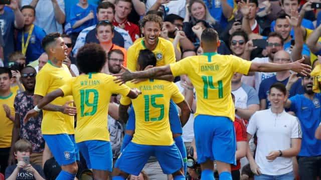 Berita Bola: Neymar Senang Messi Absen di Laga Argentina Vs Brasil