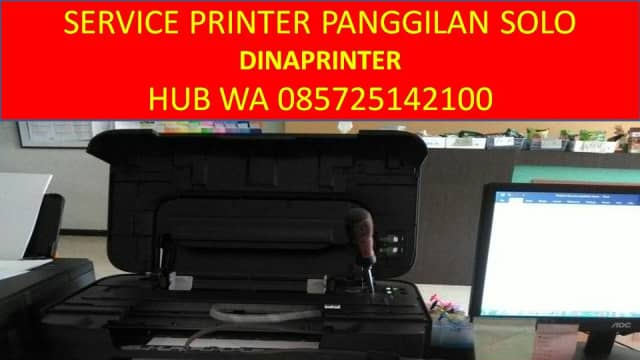 WA 085725142100, DINAPRINTER, Service Komputer Panggilan Solo