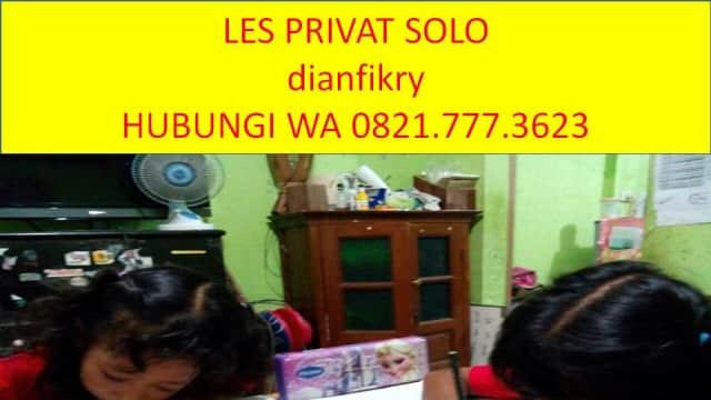 WA 08127773623, dianfikry, Les Privat Bahasa Inggris di Solo