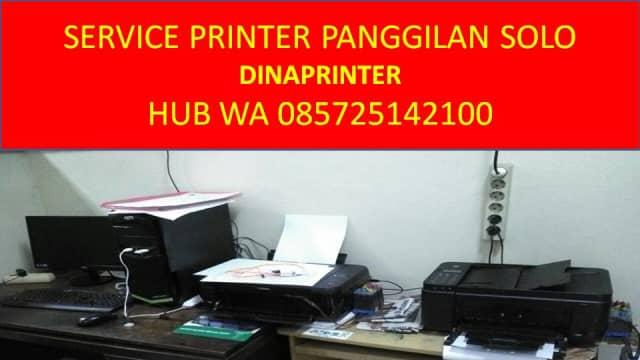 WA 085725142100, DINAPRINTER, Jasa Service Komputer Panggilan Solo