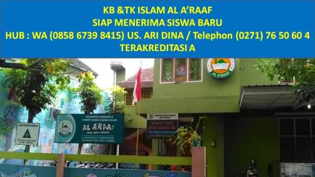 WA 085867398415, KB & TK ISLAM AL A'RAAF SOLO, TK Favorit di Solo.