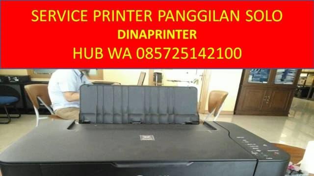WA 085725142100, DINAPRINTER, Jasa Service Printer Panggilan di Solo