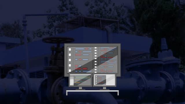 Smart Control Room di Instalasi Pengolahan Air Buaran