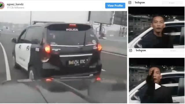 Arogan di Jalanan, Pengguna Strobo dan Sirine Dipecat dari Anggota TACI