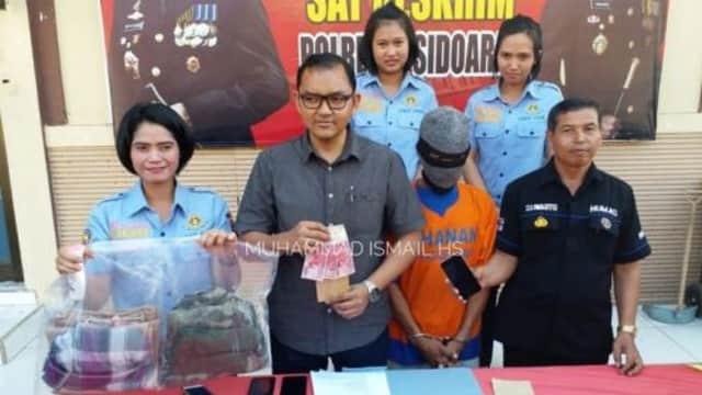 Tawarkan Istri untuk Ditiduri Pria Lain, Warga Krian Ditangkap Polisi