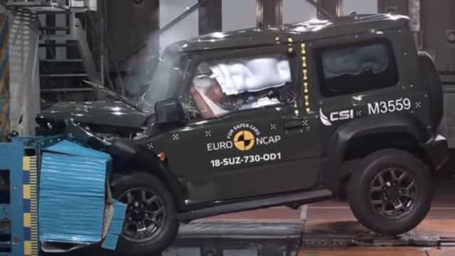 Fitur Keselamatan Suzuki Jimny Terbaru Dinilai Buruk
