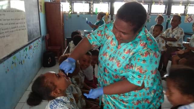 Imunisasi MRP di Papua Tak Capai Target