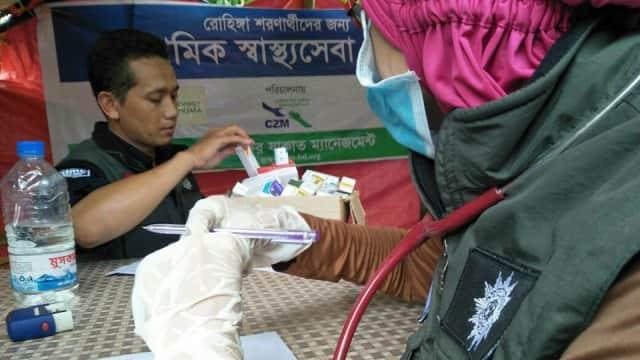Muhammadiyah Aid Buka Posko Kesehatan untuk Pengungsi Rohingya