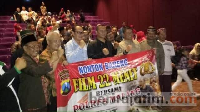 Film '22 Menit' Munculkan Keberanian Tumpas Teroris