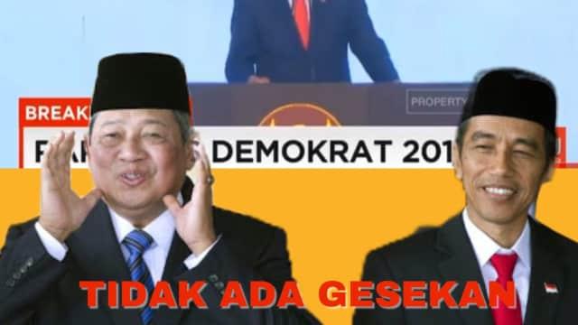 Penuh Senyum dan Canda, Bukti Hubungan Jokowi dan SBY Tetap Hangat
