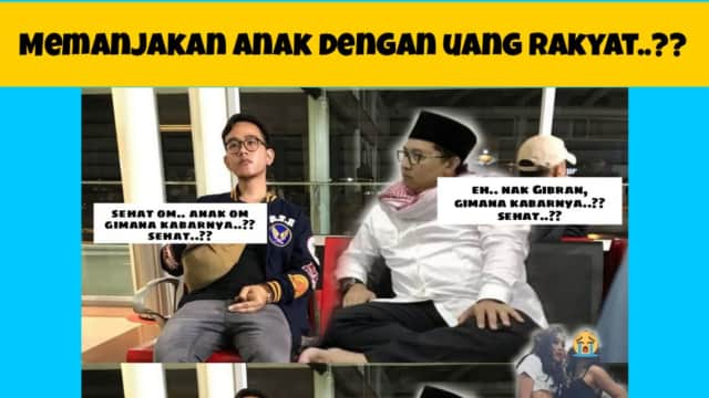 Kontras! Gaya Hidup Anak Presiden Jokowi vs Putri Fadli Zon