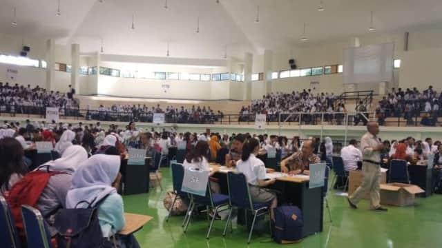 2.300 Calon Mahasiswa yang Lolos SNMPTN Ikuti Pendaftaran di ITB Jatinangor