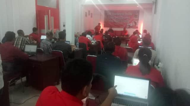 40 Bakal Caleg PDIP Brebes Jalani Tes Online