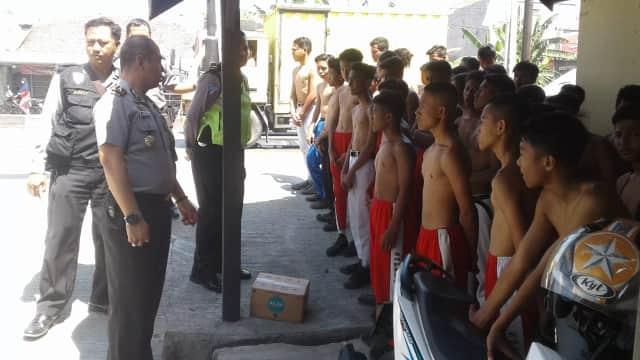 Diduga Hendak Tawuran, 55 Pelajar di Tegal Dirazia Polisi