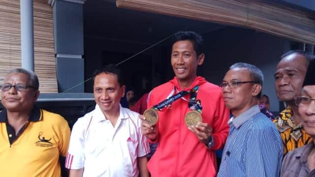Atlet Tennis asal Tegal Raih Dua Perunggu Asian Games