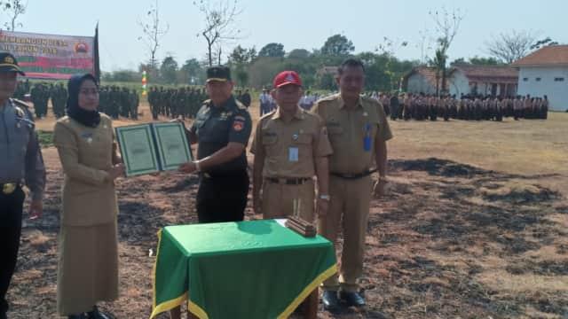 TNI di Brebes Bangun Infrastruktur Senilai Rp 500 Juta Lebih di Desa Klampis