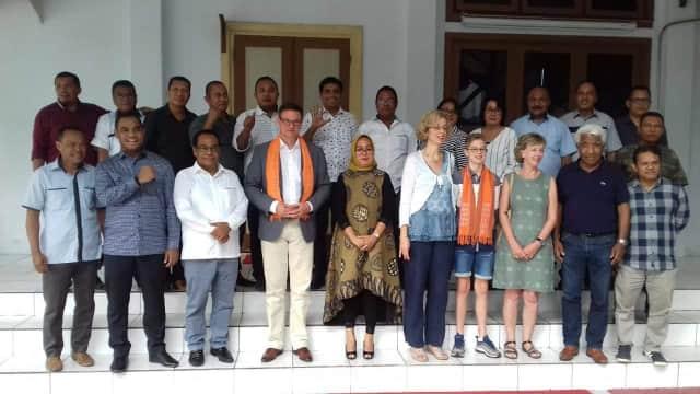 Walikota Vlissingen Jajaki Kerja Sama Dengan Pemkot Ambon
