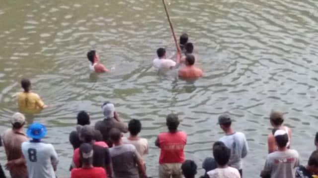 Cari Ikan di Sungai Pemali, Pemuda Tenggelam