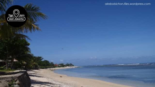 Berselancar Dengan Penyu Hijau di Pantai Pangumbahan